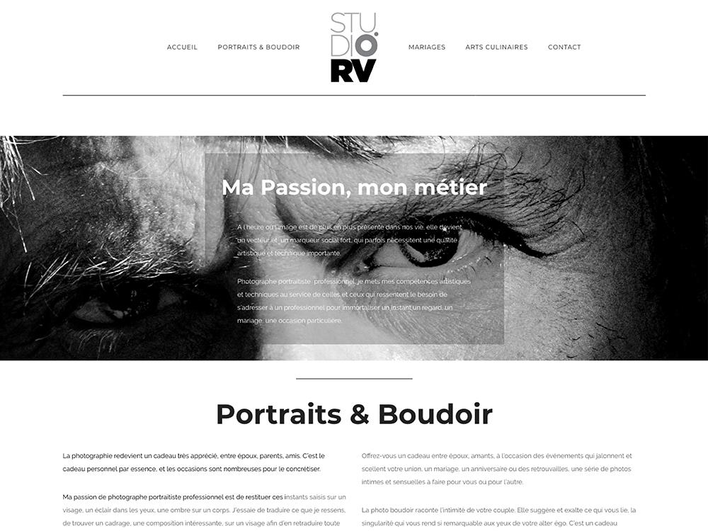 UXICOM Site Photographe Portraitiste professionnel